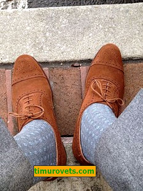 How to choose socks for trousers and shoes