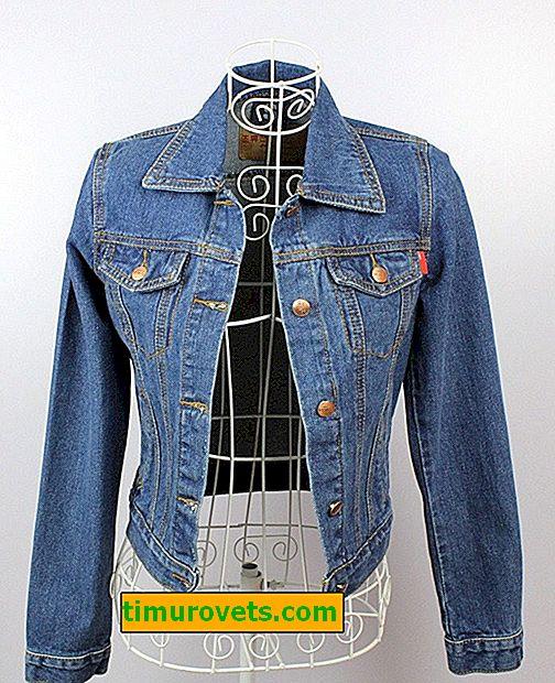 Як розтягнути джинсову куртку в домашніх умовах
