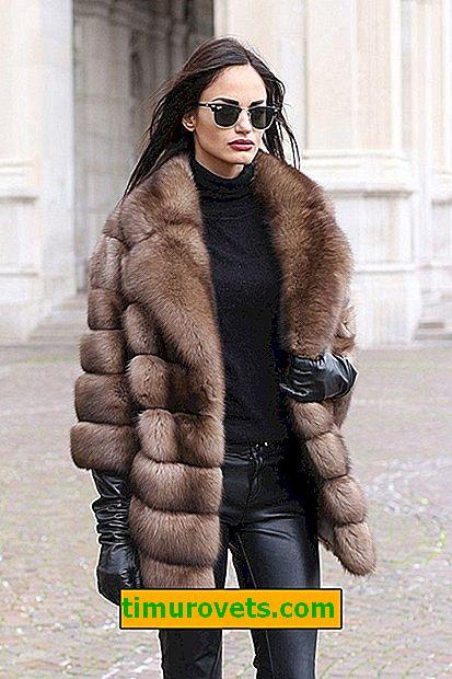 Koji su krzneni kaputi u modi 2018-2019