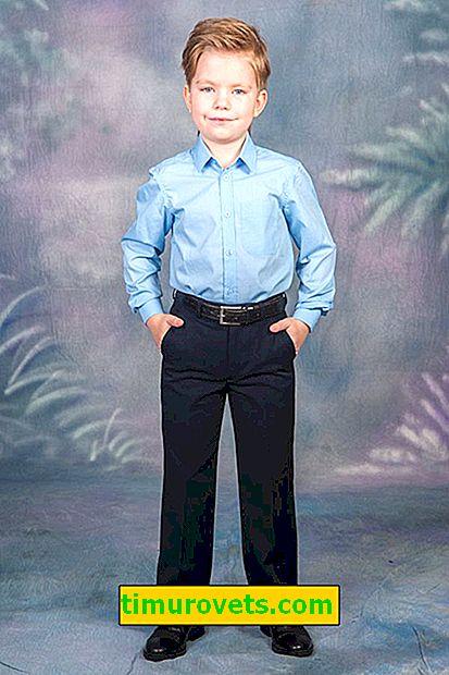 Ako lemovať školské nohavice dieťaťu kvôli rastu
