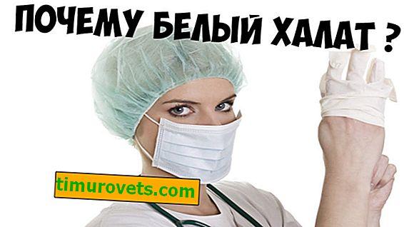 Por qué los médicos usan batas blancas