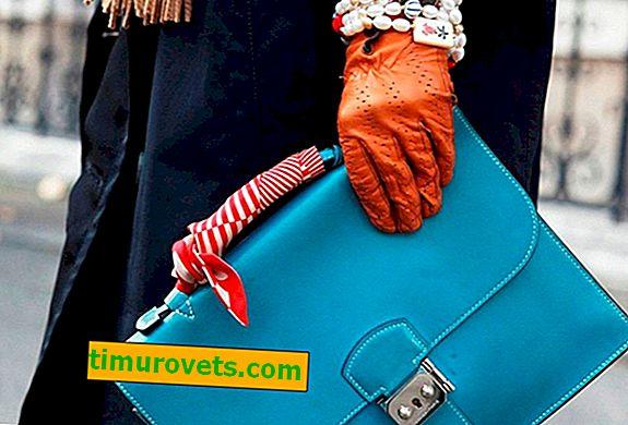 Como amarrar um lenço em uma bolsa?