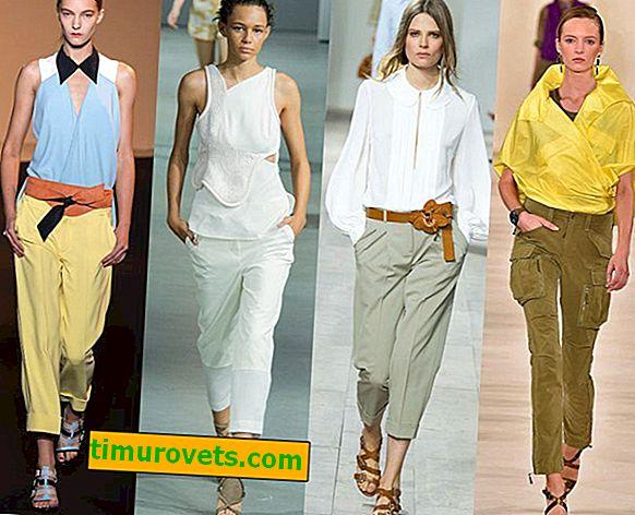З чим носити вкорочені брюки?