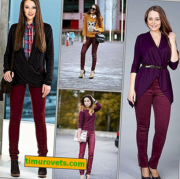 Comment porter un pantalon bordeaux