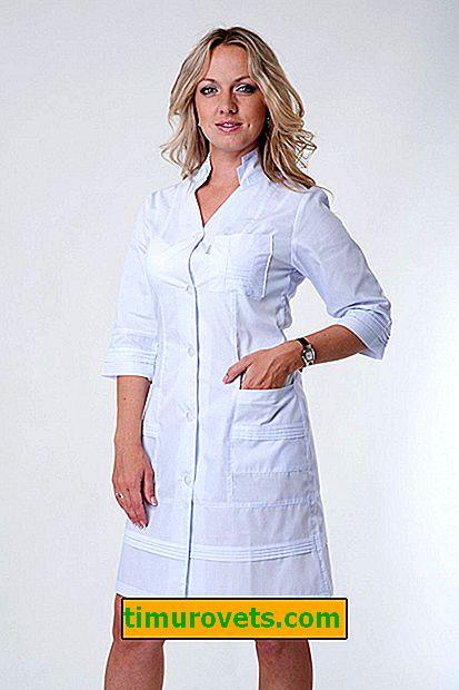 Как да нишестеме медицинска рокля
