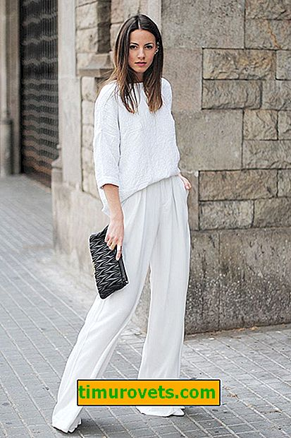 Cómo usar pantalones blancos
