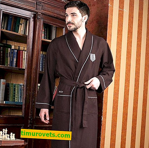 Patrón de túnica de los hombres