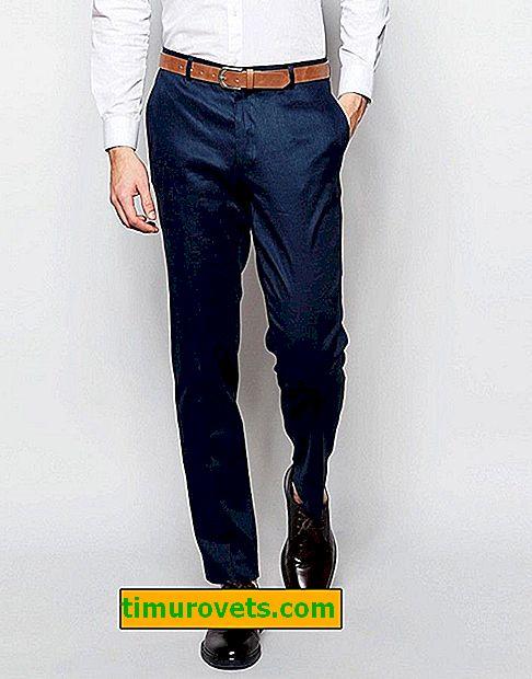 Jak nosić klasyczne męskie spodnie