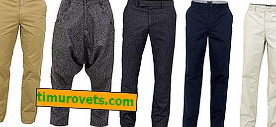 Arten von Hosen