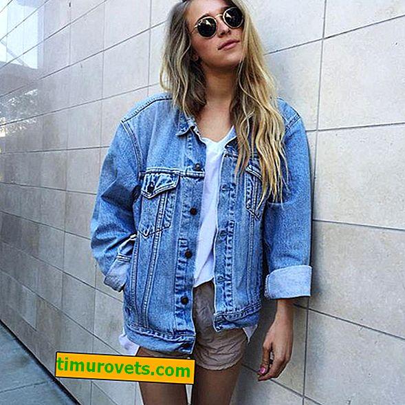Comment porter une veste en jean surdimensionnée