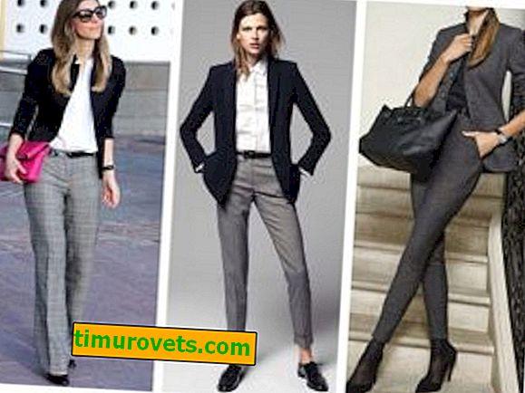 Como Combinar Unos Pantalones Grises De Mujer