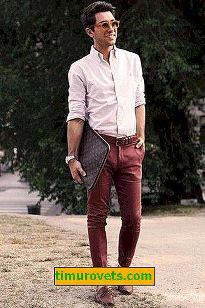 Bourgondische herenbroeken dragen