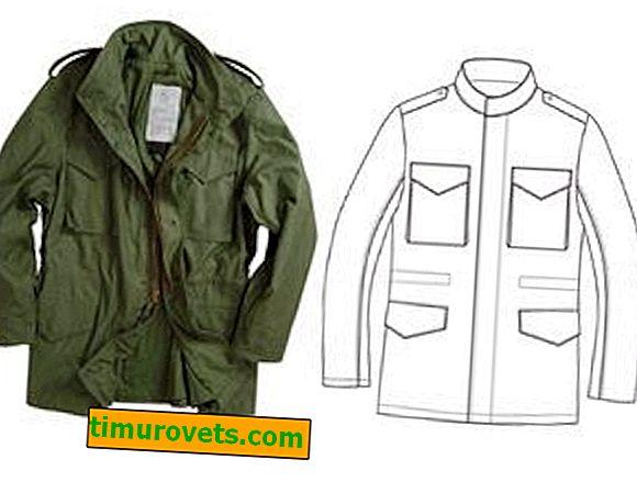 Modèle de veste pour homme