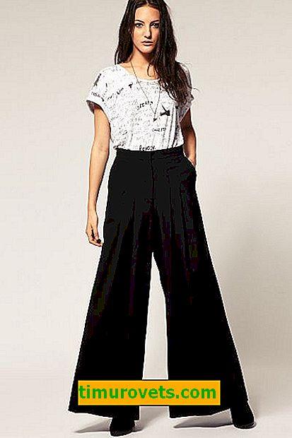 Jak se nazývají široké kalhoty