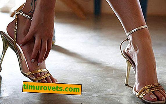 Hvordan skal sandaler sitte?