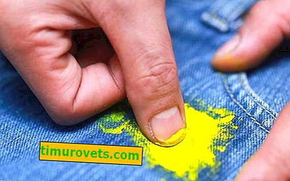 Kako skinuti boju s hlača