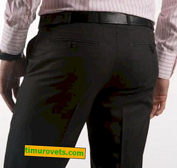 Como costurar calças masculinas?