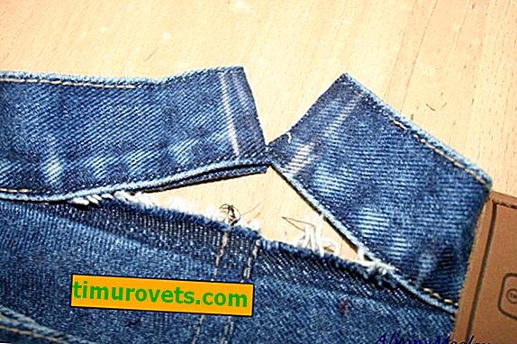 Kako šivati hlače u pojas (na struku)?