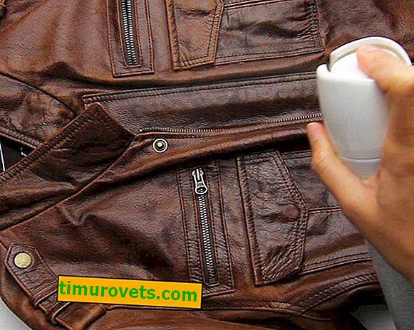 Ako odstrániť zápach z koženej bundy?