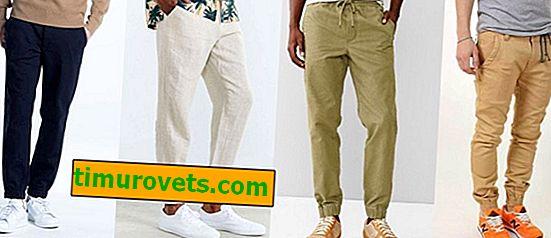 Hvad hedder mænds bukser med elastik i bunden