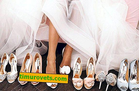 Защо не можеш да се ожениш в сандали.  Знаци и етикет