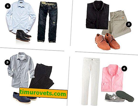 Как да изберем цвета на ризата към панталоните