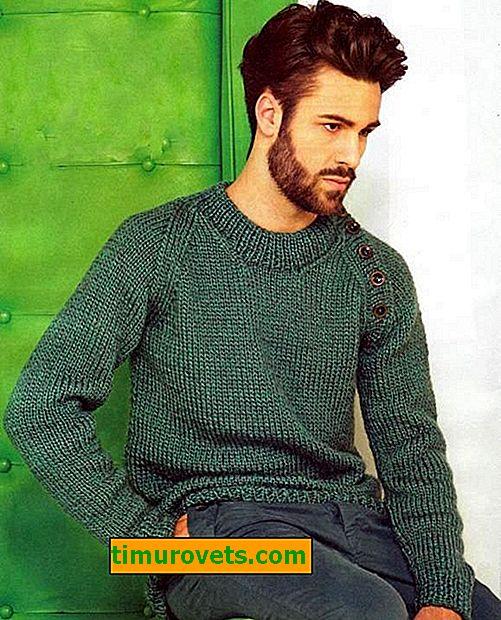 Cómo tejer un jersey de hombre con agujas de tejer y crochet