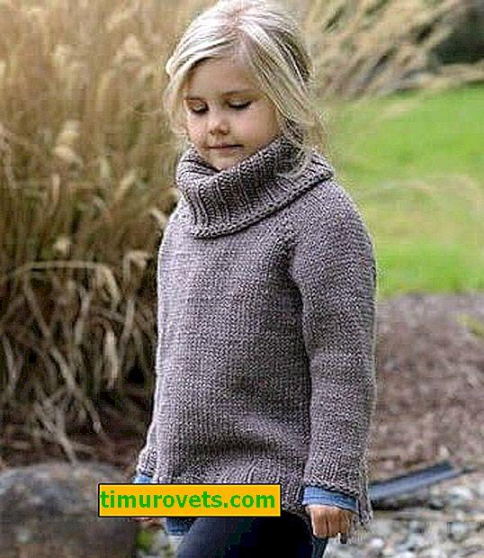 Comment tricoter un pull pour une fille avec des aiguilles à tricoter
