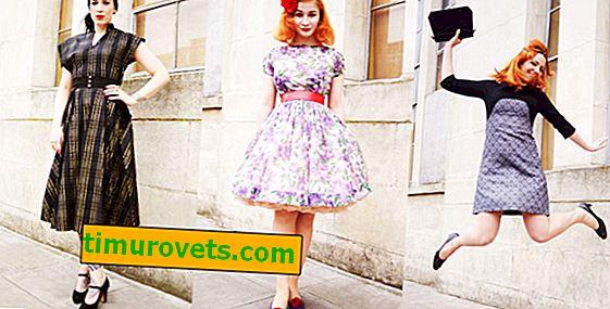 Vintage je nyní v módě.  Co je vintage oblečení?