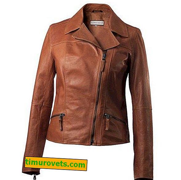 Kako nositi smeđu kožnu jaknu