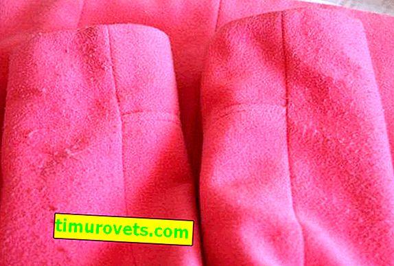 Как да премахнете макари от палто