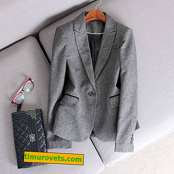 How to wear a gray jacket