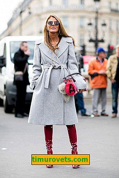 Quelle écharpe conviendra à un manteau gris