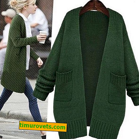 Jak nosić zielony sweter