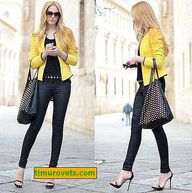 Какво да облека с жълто яке