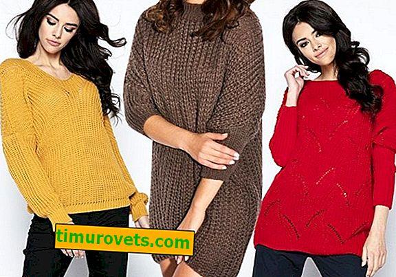 Kako nositi pulover v različnih barvah