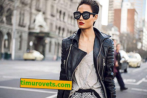 Kako nositi žensko usnjeno jakno