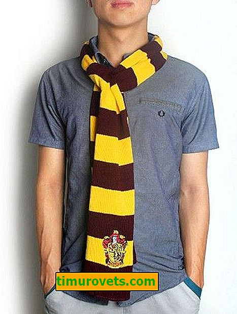 Harry Potter šal: Knit