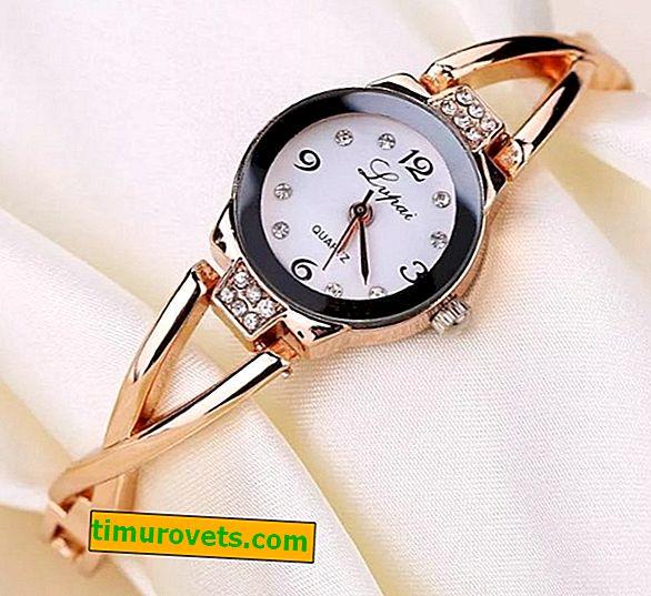 Какъв часовник трябва да избере жена над 50: материал, механизъм, стил