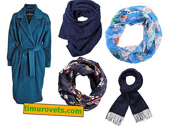 Quelle écharpe conviendra à différentes couleurs de manteau