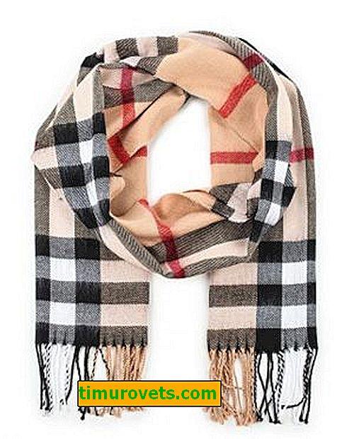 Какво да носите с шал