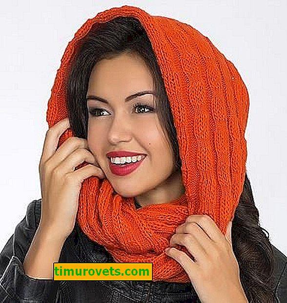 Como tricotar um cachecol de baixada