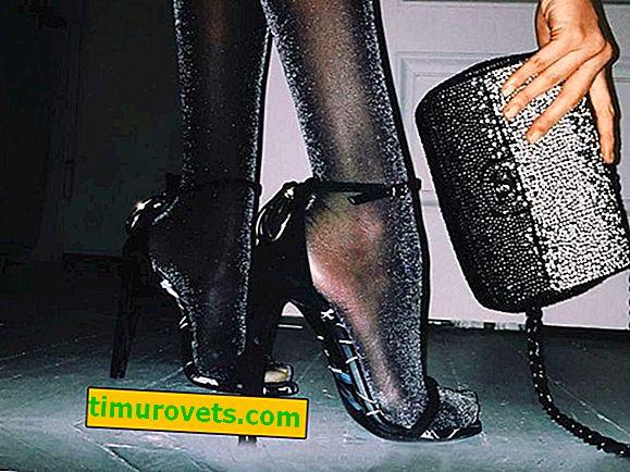 Kan sandaler bæres med nylon strømpebukser