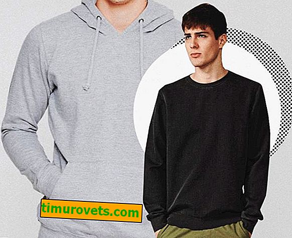 Hvordan er en hettegenser forskjellig fra en genser