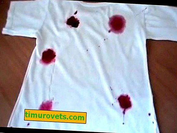 Kako oprati maline iz bijele majice