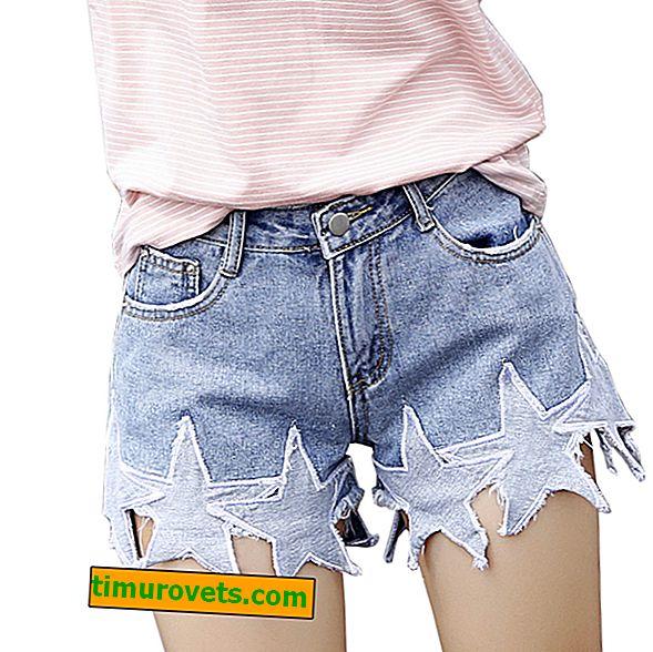 Jak oříznout džíny pod šortky