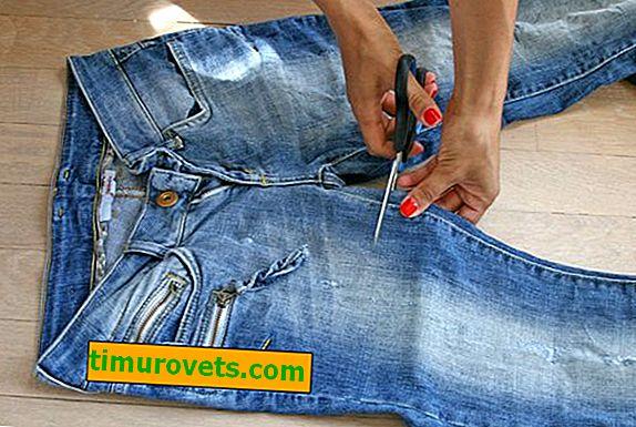 Как да си направим дънкови шорти