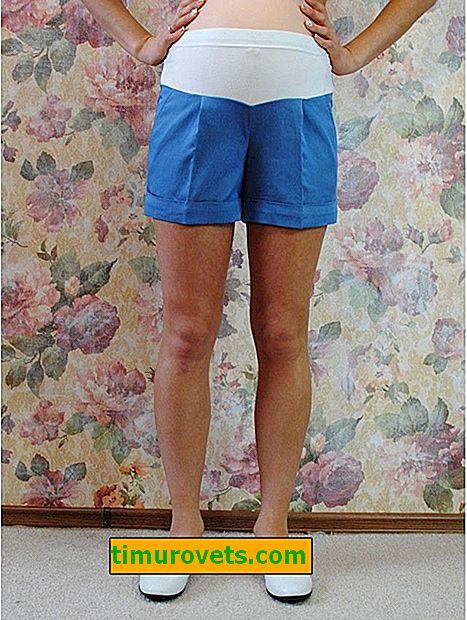 Shorts de maternité bricolage