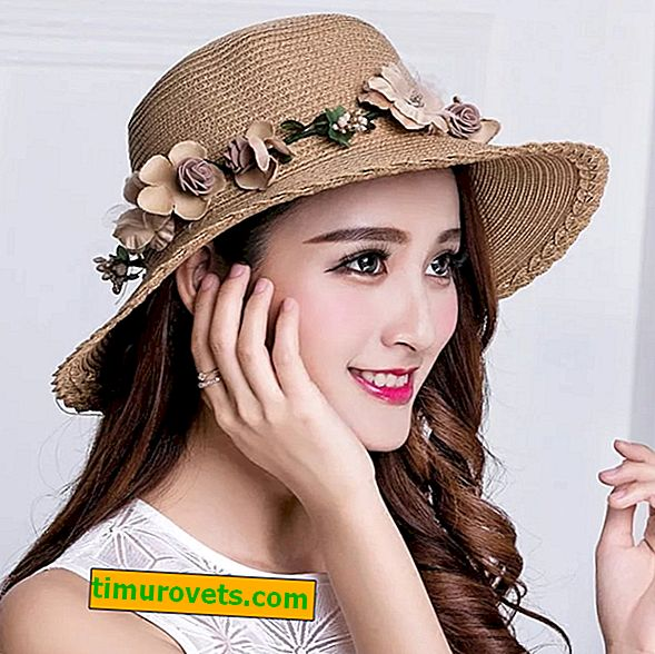 What a hat is suitable for a woman in the summer in the city