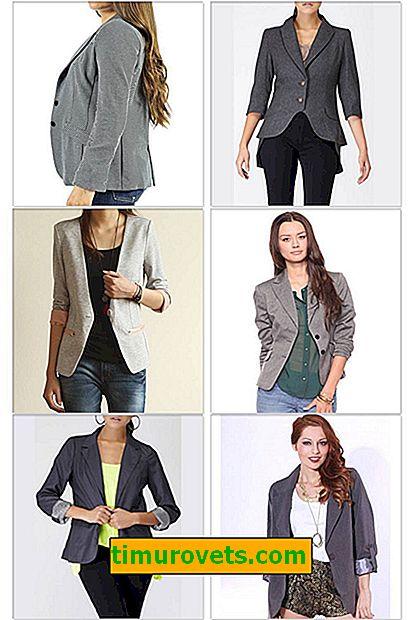 Que porter avec une veste grise?